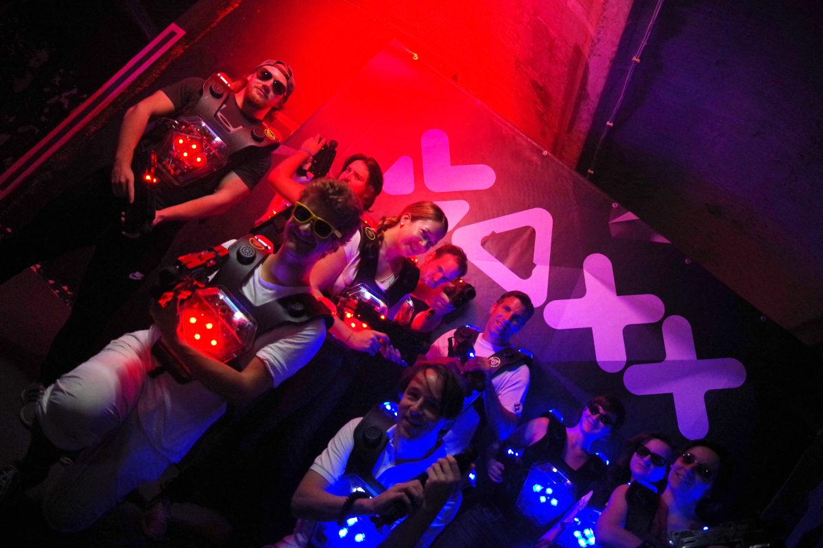 Wiens coolste Lasertag-Bar: Gewinn Match für 10 im Wert von 220 Euro