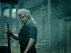 the witcher, henry cavill, serie