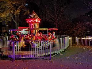 Türkenschanzpark, Christkindlmarkt, Ringelspiel, Kinderprogramm