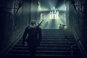 Geralt, The Witcher, Fantasy, Monsterjagd, Treppe, Fenster, Licht