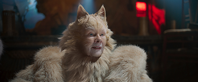 judi dench, old deuteronomy, cats, tom hooper