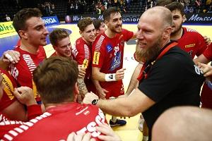 ales pajovic, jubel, oehb team, handball