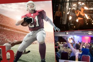 Super Bowl Night 2020: Gewinn Karten für Mega-Party im Arcotel Wimberger