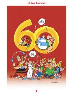 Didier Conrad, 60 Jahre Asterix, Beitrag, Hommage
