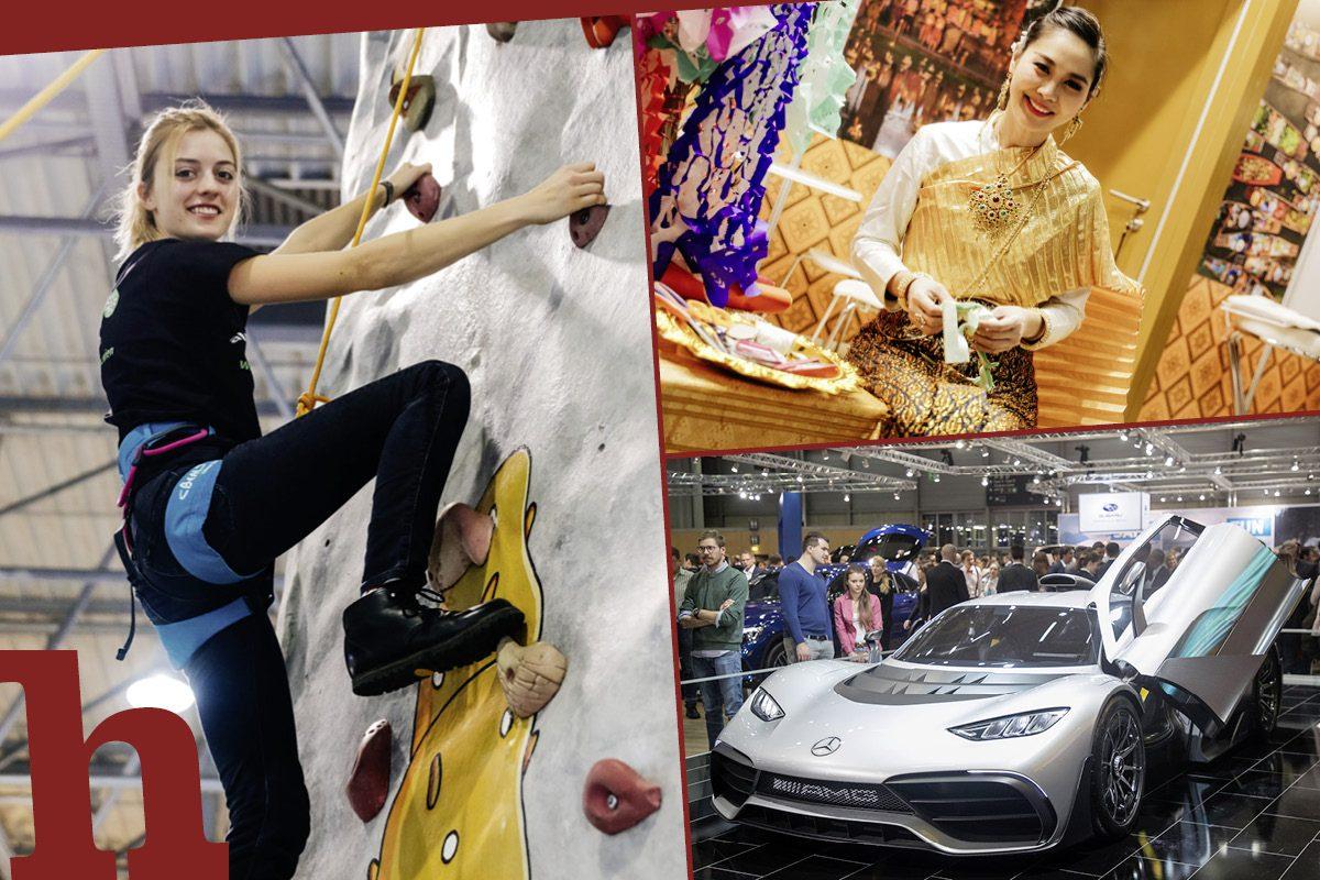 Ferienmesse und Vienna Autoshow – Urlaub, Sport & neue Flitzer
