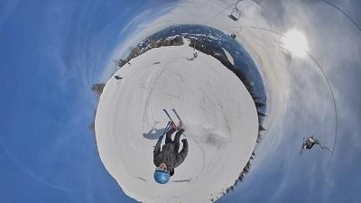 steilste skipiste niederösterreichs, gemeindealpe, mostviertel, little planet, 360 grad aufnahme, skifahrer, lift