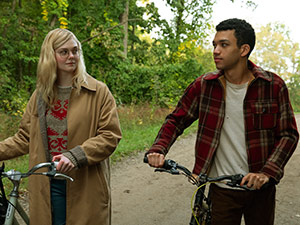 all the bright places, elle fanning, justice smith, jennifer niven