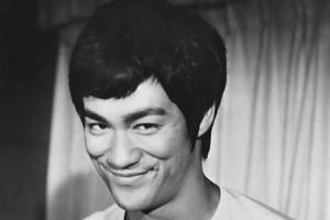 Bruce Lee, schwarzweiß, Kung Fu, Kampfsport-Filmstars