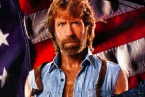Chuck Norris, Waffe, Bart, Delta Force, Martial Arts, Flagge, Jeansjacke