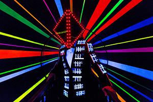 Deichkind, Neon, Neonlicht, Party, Live