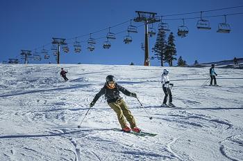 almhang, hochkar, skifahrer, lift, anfänger