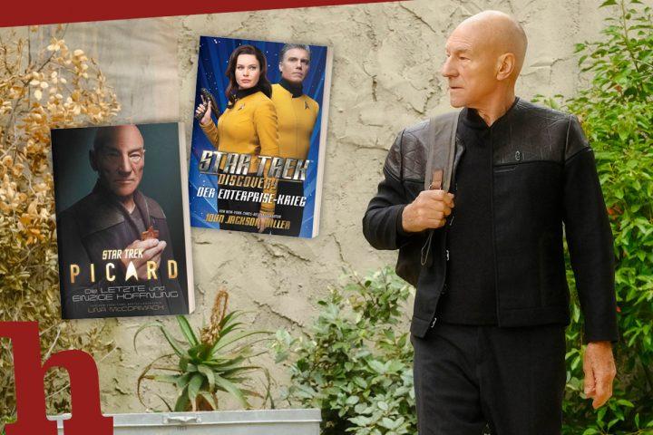 Star Trek Picard & Discovery: Bücher zu den Serien gewinnen!