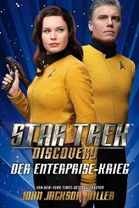 star trek discovery der enterprise-krieg, buch, cover