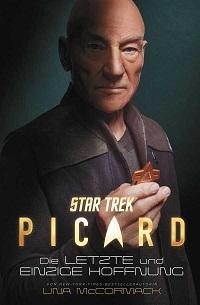 Star Trek Picard die letzte und einzige Hoffnung, Cover, Buch