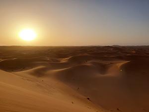 Wüste, Sonnenuntergang, Marokko, Süden, Marrakesch Ausflugstipps