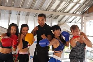 muay thai, gruppenfoto, thailand
