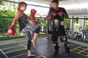 Thaiboxen, Kick, Training, Phuket