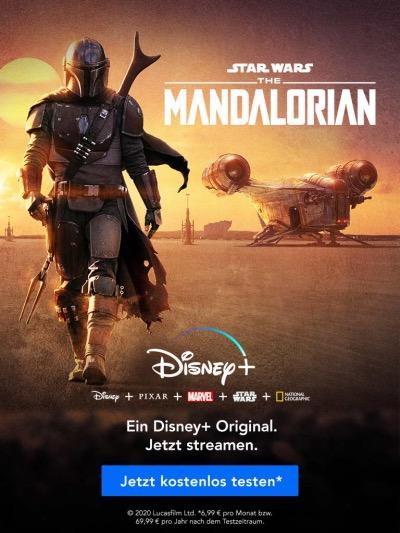 the mandalorian, disney+