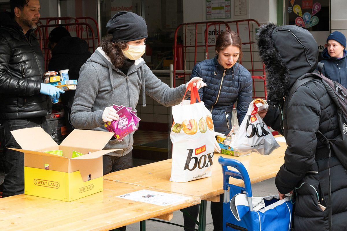 Wo kann ich in der Coronakrise freiwillig helfen? Teil 3: Caritas