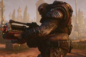 Monster, Boomer, Locust, Geast Tactics, Waffe, Review, Game
