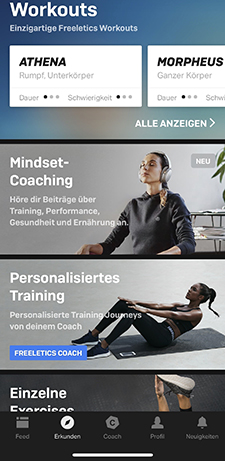 freeletics, hiit, trainingsplan