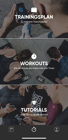 gettoworkout, hiit training, app, home workout