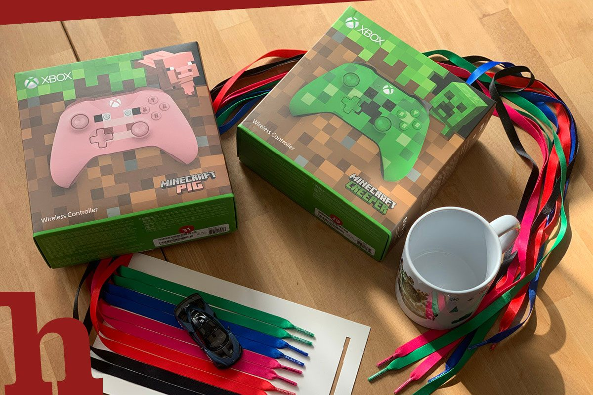 Für Zocker! Wir verlosen Xbox Controller im Minecraft-Look mit Goodies