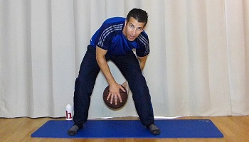 Schnelle Hände, Workout mit Basketball, Übung