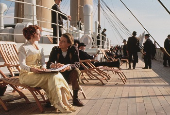 Kate Winslet, Leonardo Di Caprio, Titanic