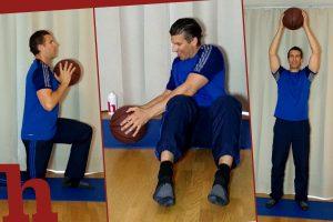 Ganzkörper-Kräftigung mit Ball: 13 Übungen im Video