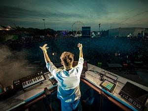 musikfestivals, stimmung, dj, publikum