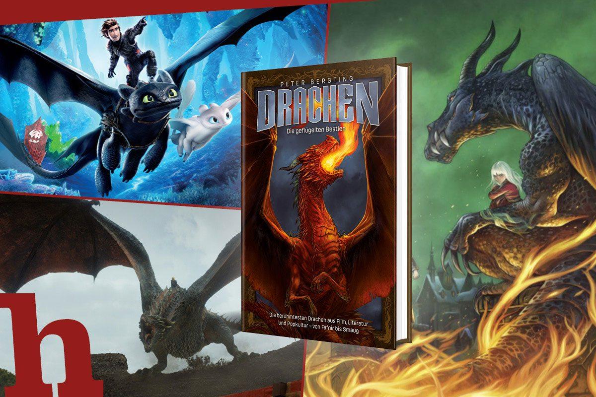 Legendäre Drachen: Gewinn Buch über Drogon, Ohnezahn & Co.