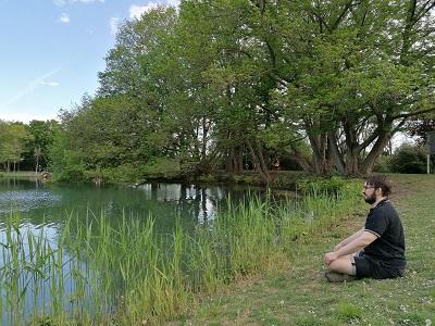 Kurpark Oberlaa, Teich