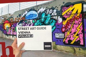 Street Art Guide Vienna – Gewinn Prachtband zu Wiens Wandkunst