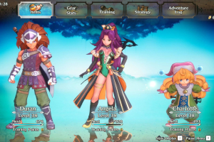 trials of mana, remake, 2020, 3d-version, test, charaktere, menü, klassen,