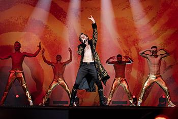 dan stevens, russland, island, esc, eurovision song contest, netflix
