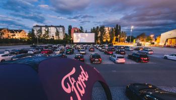 drive-in cinema graz, autokinos in oesterreich, 2020, liste,  pkw, parkplatz, messegelände, steiermark,