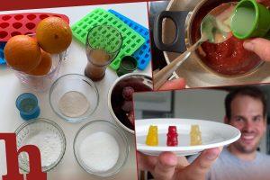 Gummibärchen selbst gemacht – veganer, fruchtiger Genuss