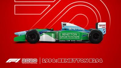 benetton, schumacher, 1994, f1 2020