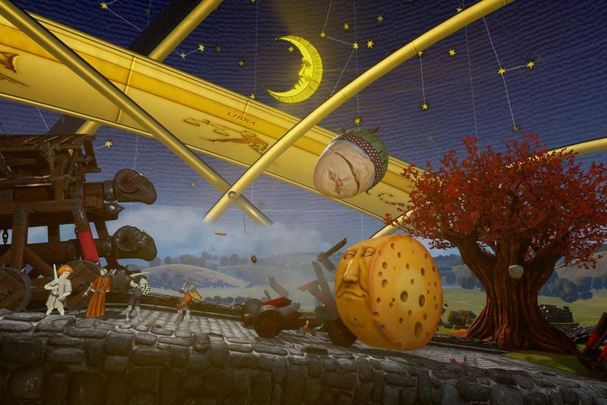 Rock of Ages 3 Test: Im Monty Python Style durch die Geschichte kegeln