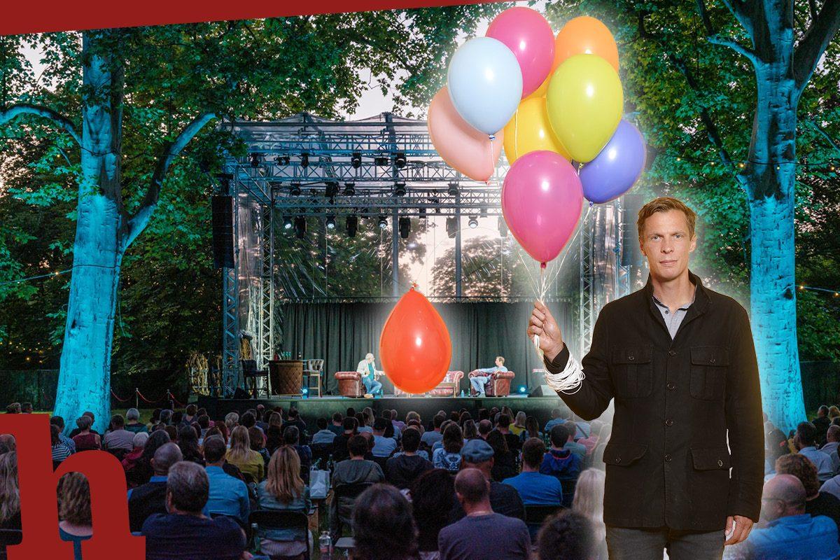 Klaus Eckel bei Theater im Park – gewinn Karten!