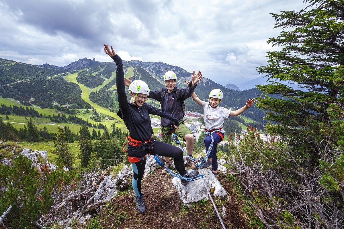 Klettersteig-Schnuppern am Hochkar: Bergspaß für Anfänger
