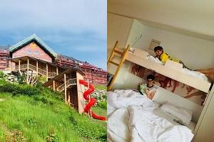 JUFA Hotel Hochkar, Rutsche, Haus, Zimmer mit Kindern