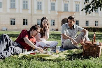 Picknick, Schloss Hof, Marchfelder Schlösser