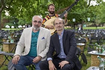 Michael Niavarani und Georg Hoanzl bei Theater im Park am Belvedere Wien
