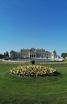 parks in wien, belvedere, schlosspark, alpengarten