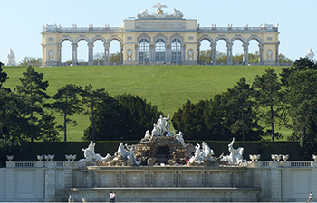 gloriette, schönbrunn, schlosspark