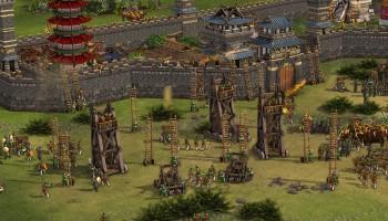 Stronghold: Warlords, Firefly Studios, Burg, Soldaten, Vorschau