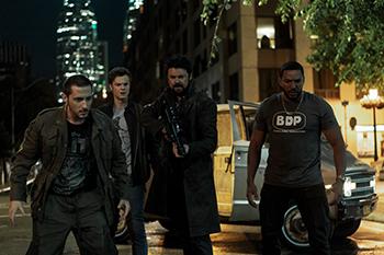 the boys, karl urban, jack quaid, vigilante, amazon