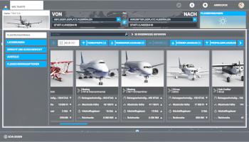 flugsimulator microsoft, maschinen, flugzeuge, auswahl, menü,